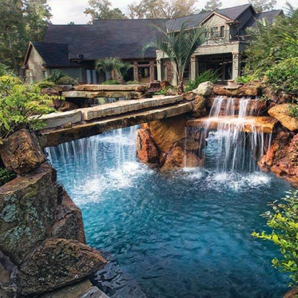 Pool Waterfalls Pros Cons Design Ideas More Pool Research